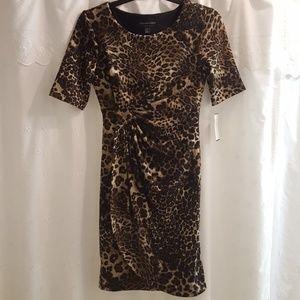 Connected Leopard  dress size 4P